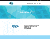 Marketing Agency Front Page