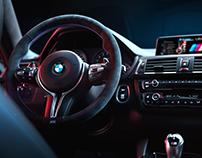 BMW M4 interior   CGI