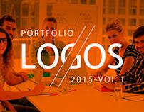 Logo Design Portfolio - 2015 Vol.1