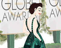 Golden Globes Outfits