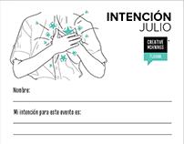 INTENCIÓN Julio 2018/ CreativeMornings: Tijuana