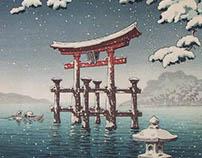 Motion : Estampes Ukiyo-e et Shin-hanga