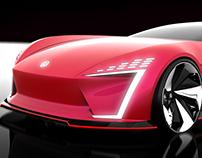 Volkswagen Emotion, Internship project.