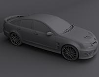 Holden HSV GT for 3D Print