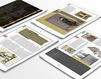 Interactive e-book app