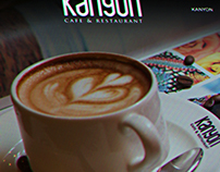Kanyon Cafe & Restaurant Web Site Design