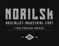 Norilsk - FREE FONT