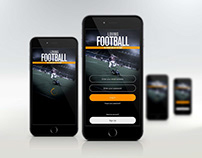 Design loving football App