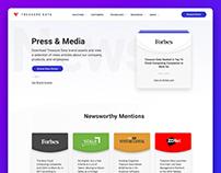 Treasure Data Press & Media Page