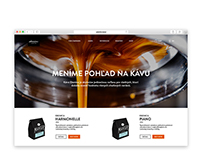 Ebenica Coffee (web concept)