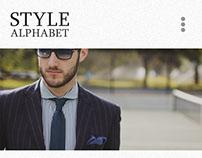 Style Alphabet (Wordpress/ Updated)