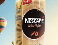 Nescafe White Coffee - Discover The Fun of Light Coffee