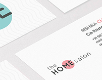 The Home Salon - Branding
