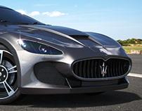 CGI | Maserati Gran Turismo MC Stradale '14