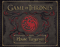 Game of Thrones Targaryen Deluxe Stationery Set