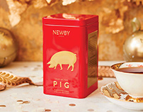 Chinese New Year of the Pig 2019 Tea Caddy 2
