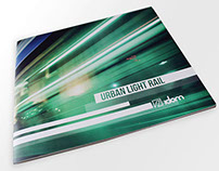 Urban light rail brochure