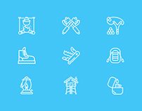 Freebies - Camping Icons