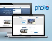 Phollo Landing Page Concept (v1.0)