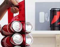 new coca cola packaging- student project