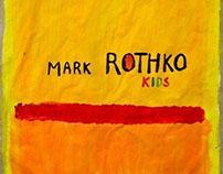 Mark Rothko kids art class poster