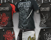 Newbreed Fight Gear Ads, Style Guides & Apparel Design