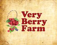 Very Berry Farm identity