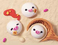 Baidu Doodle -The Lantern Festival