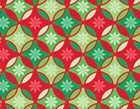 Traditional Christmas Scrapbook paper