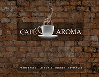 Cafe Aroma Menu Website