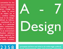 A 7 Design Poster