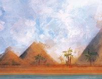 Boardgame Fanart Amun-re
