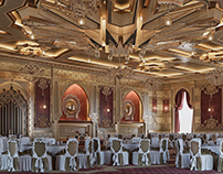 Arabic style wedding palace 3D-Visualization&Design