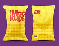 Snack Packaging Mockups