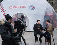 Commandite Rogers Mobile - Blue Jays