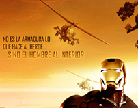 Composición Photoshop. Poster IRONMAN 2
