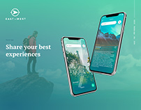 East to West. Travel App