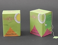 Subhuti Tea; Product Packaging Design Project