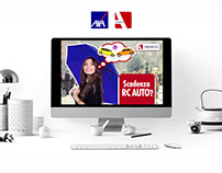 Axa - Assigeco Insurance Advertisign