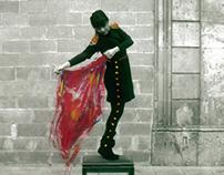 Estatuas Humanas De La Rambla en Barcelona