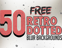 50 Free Retro Dotted Blurred Backgrounds