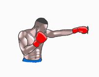 Fast illustration: Animation, boxing
