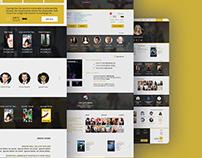 Movie Nation - Website Concept