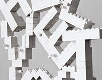 Helvetica Lego animation