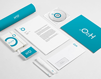 H2O Pure Water / Corporate Identity