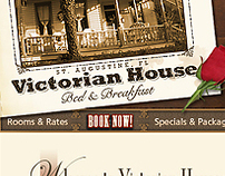 Victorian House Bed & Breakfast: Web Design