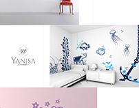 Logo Design and Brandig for Yanisa Studio
