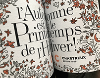 """""""L'Automne est le Printemps de l'Hiver"""" Wine Label"""