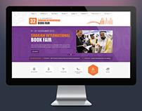 Book Fair - Website Design