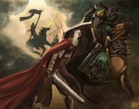 Children's Book Illustration : The Story of Saladin